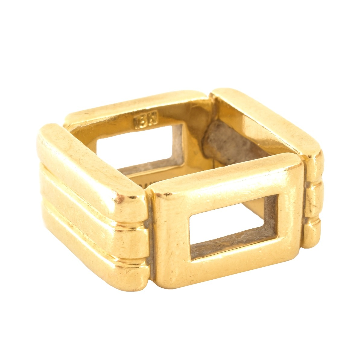 Tiffany 18K Gold Ring