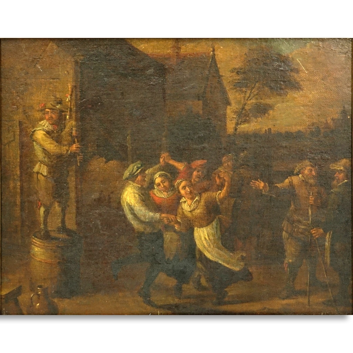 Attributed: David Teniers (1610 - 1690) O/C