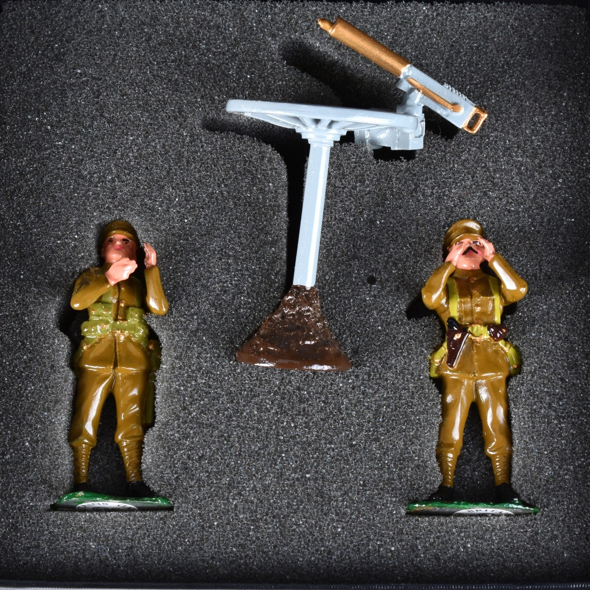 Eight (8) Hand Painted Miniature Soldiers