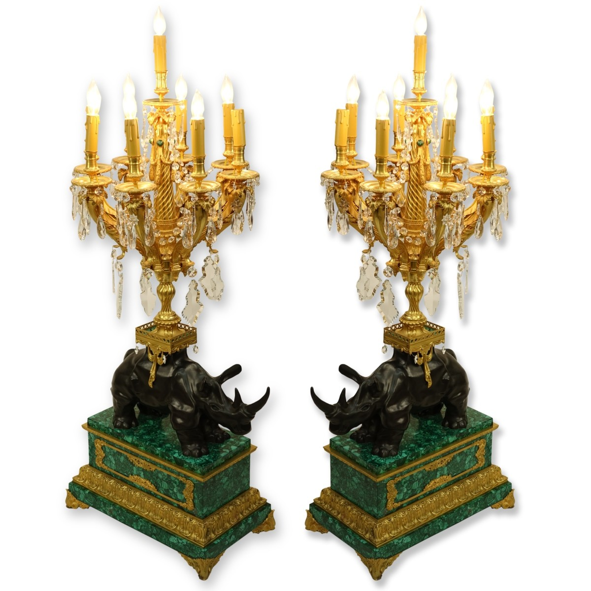 Magnificent Pair of Candelabra