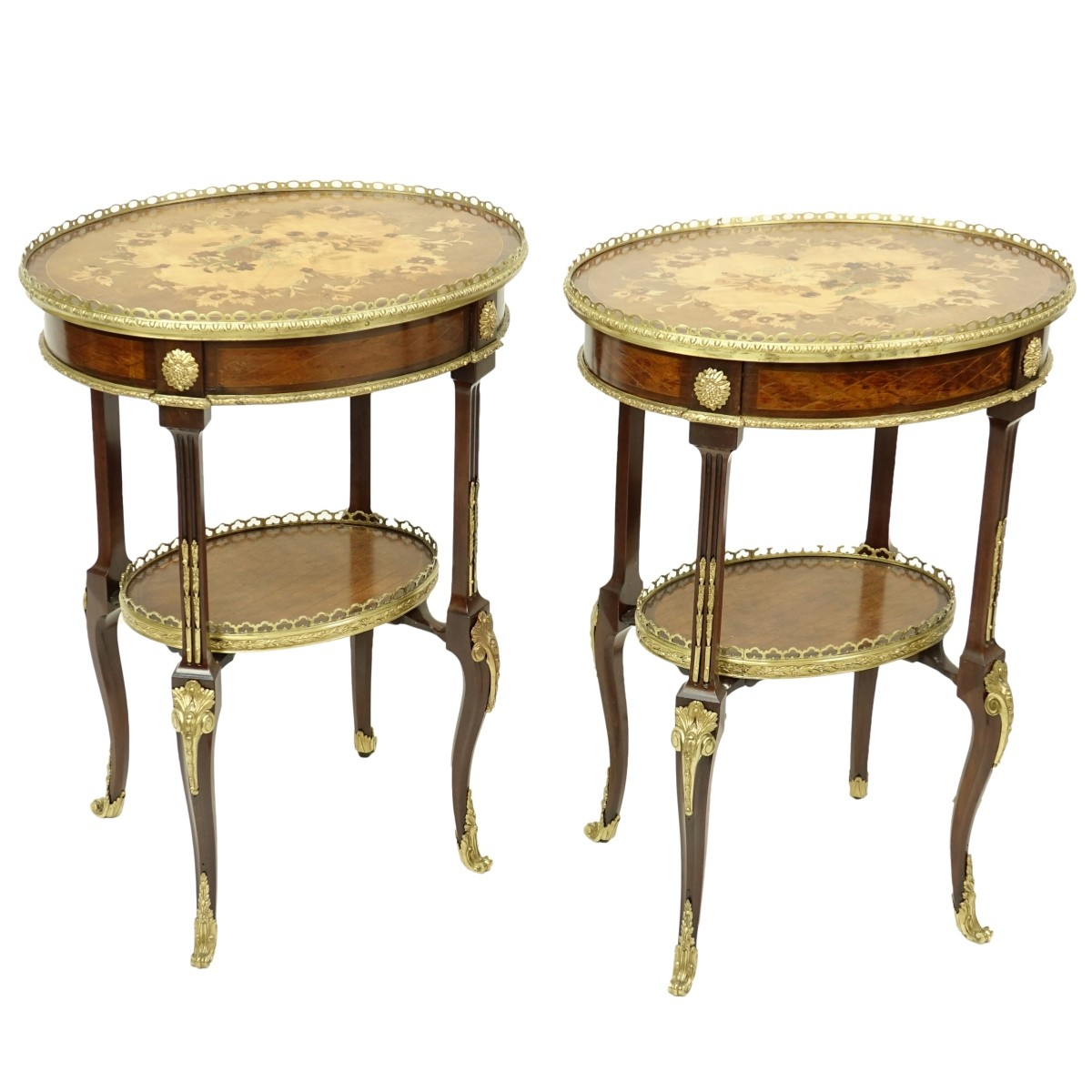 19C Marquetry Tables