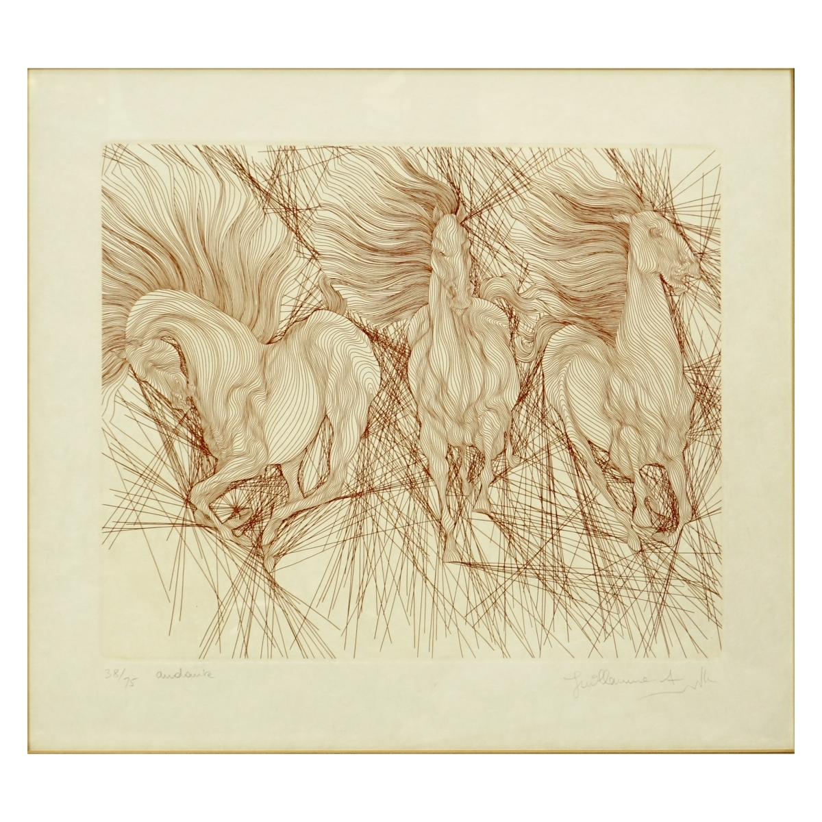 Guillaume Azoulay Etching