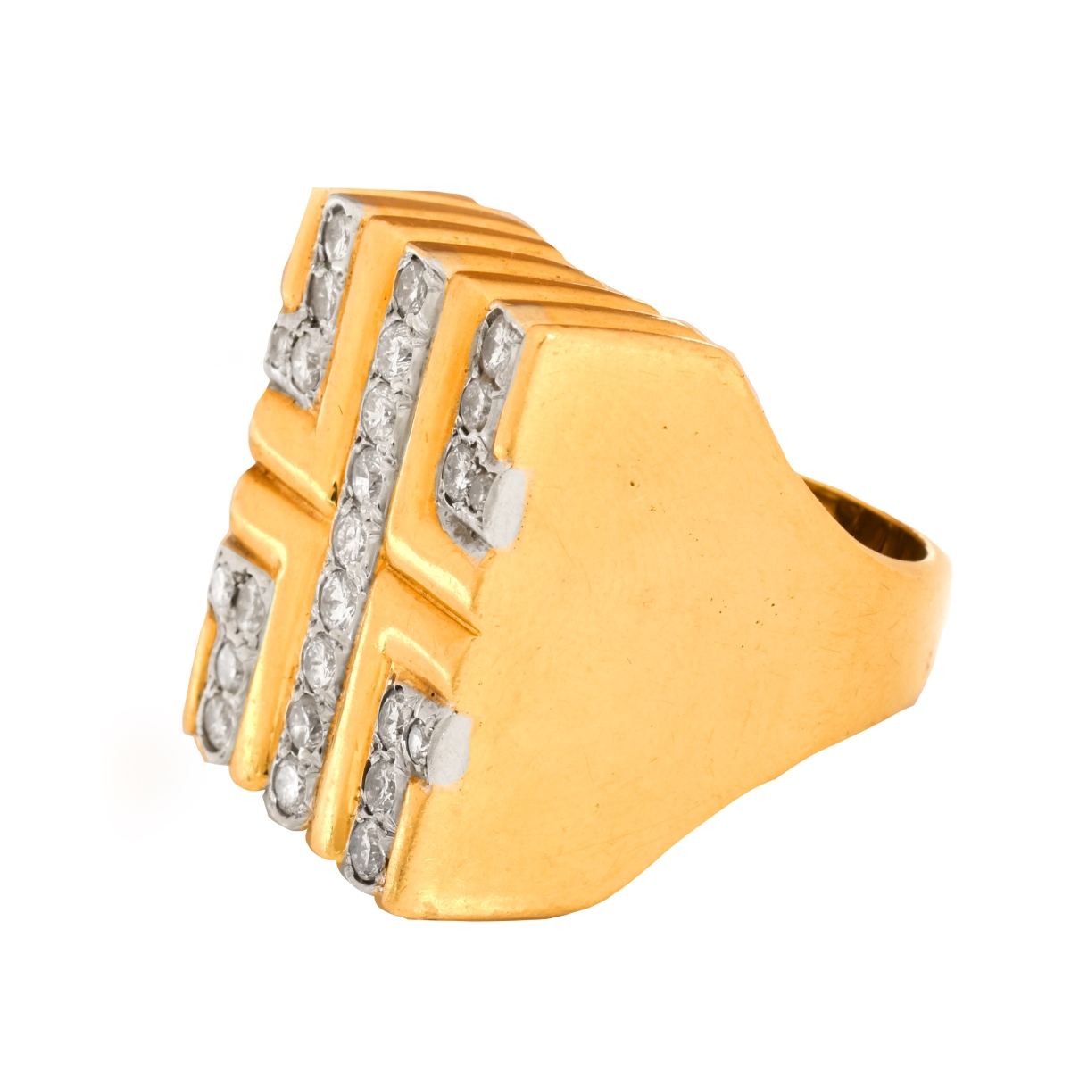 Vintage Diamond and 18K Ring