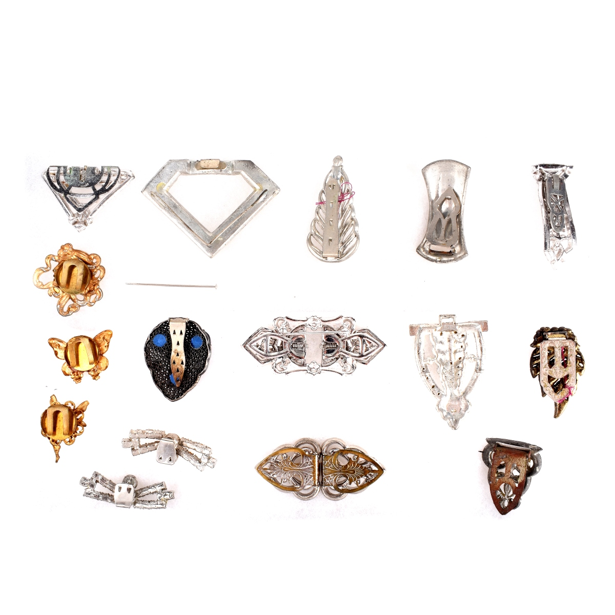 Collection of Clip Brooches