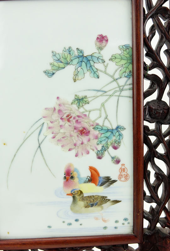 Chinese Table Screen