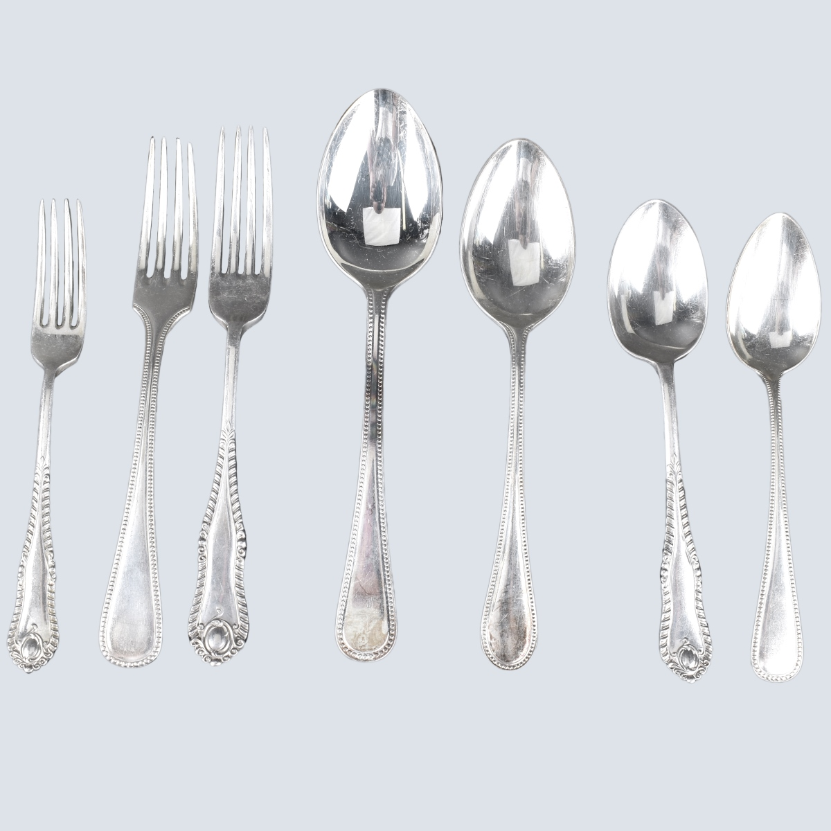 Assorted Silver Plated Flatware