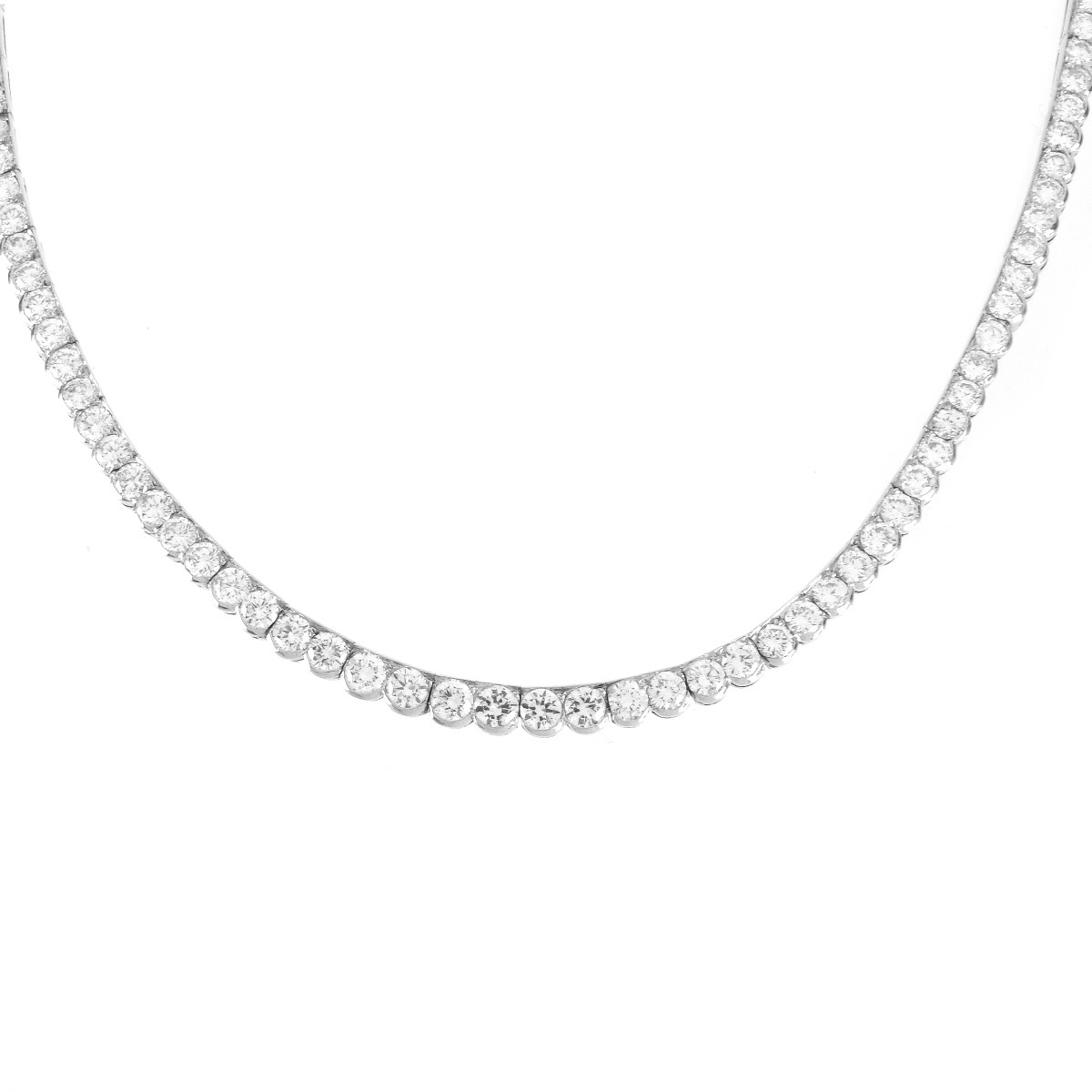 Vintage Van Cleef & Arpels Diamond Necklace