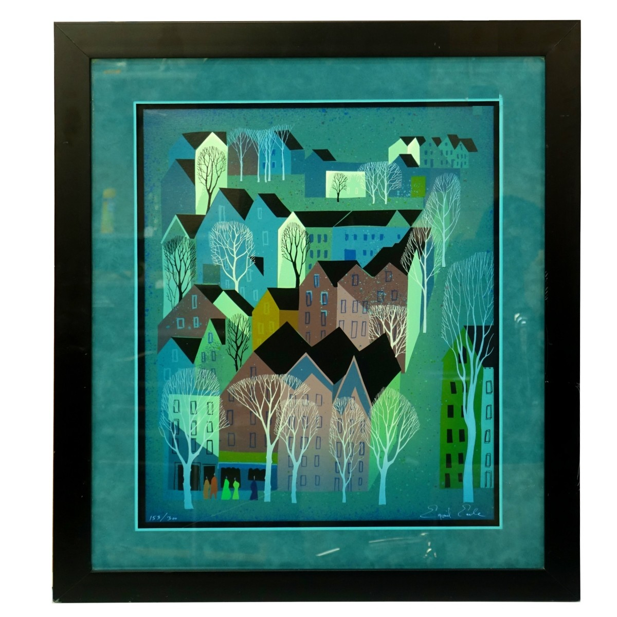 Eyvind Earle (1916-2000) Lithograph