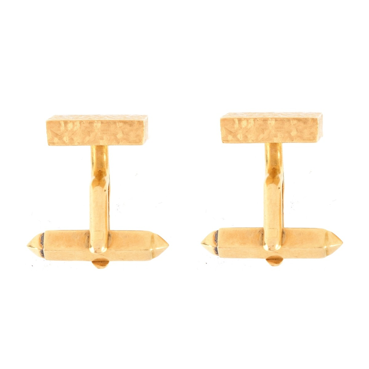 Vintage Kurt Weiss London 18K Cufflinks