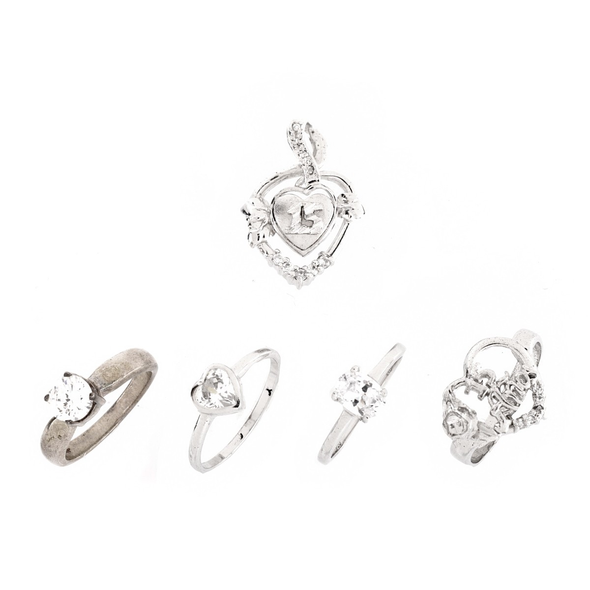 Sterling Silver and CZ Jewelry