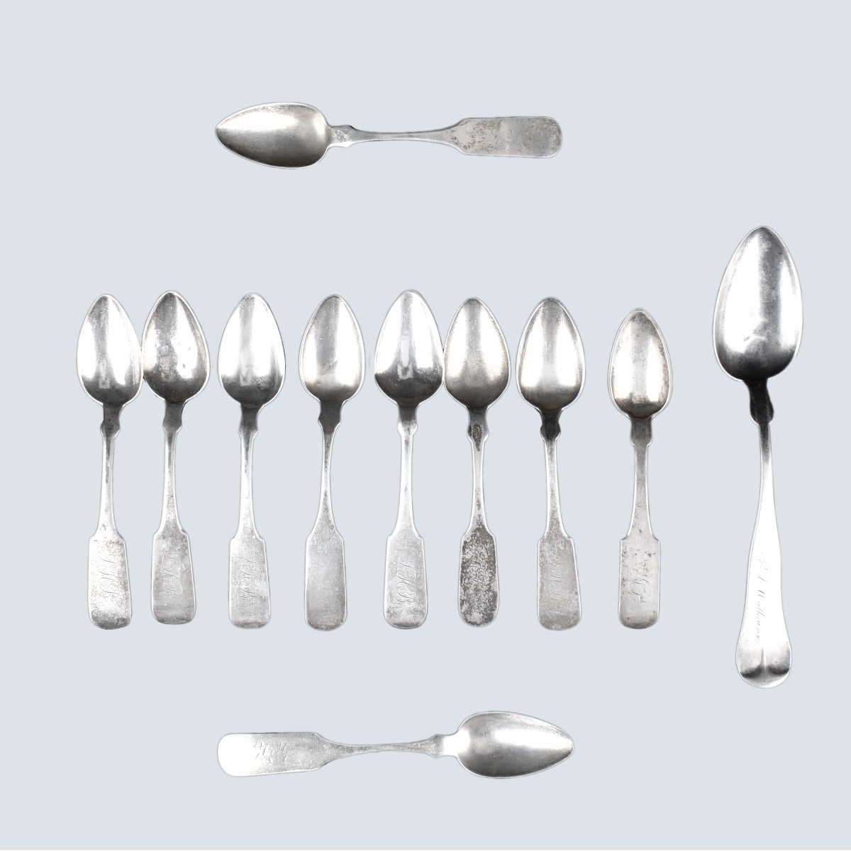 Lot of Coin Silver Spoons