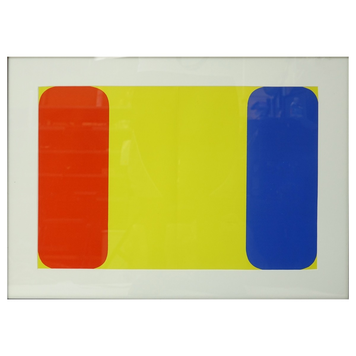 Ellsworth Kelly (b.1923) Color Lithograph
