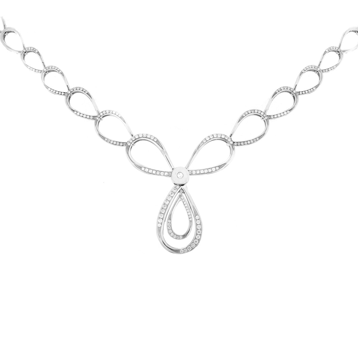 Pertegaz Diamond and 18K Necklace