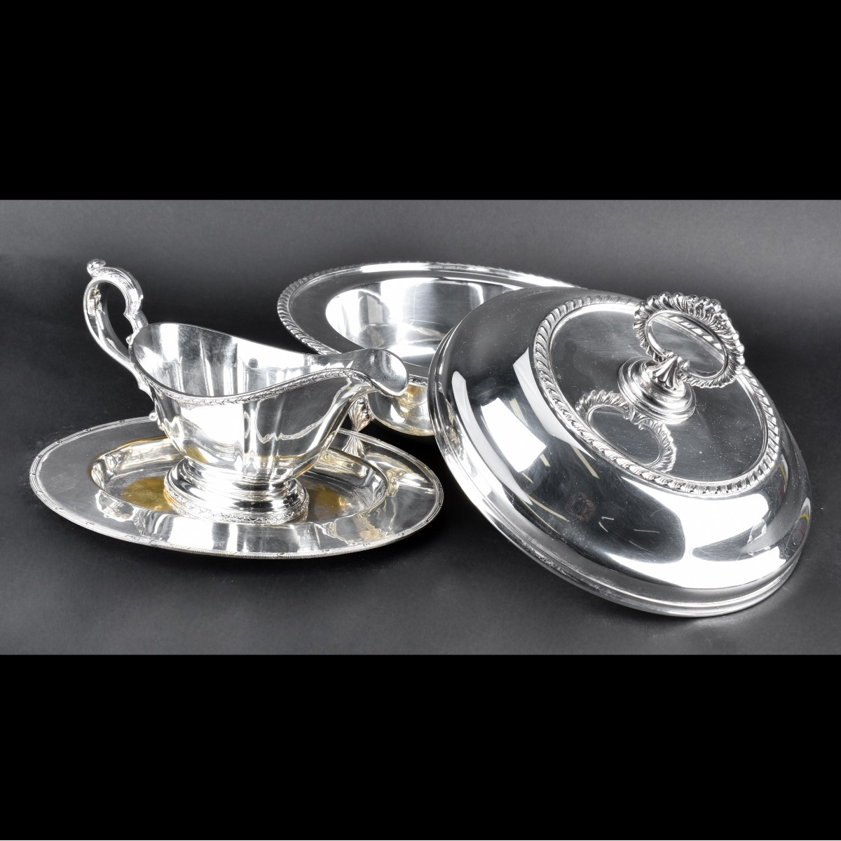 Premium Silver Plate Holloware Lot