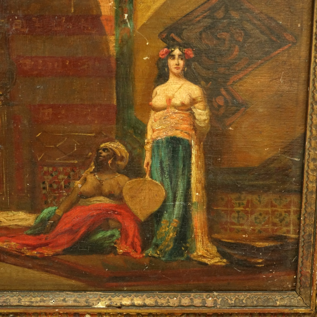 After: Jean Leone Gerome (1824-1904) Oil/Panel