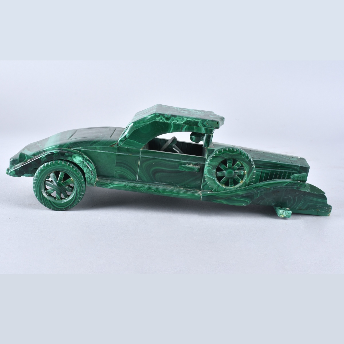 Vintage Malachite Car