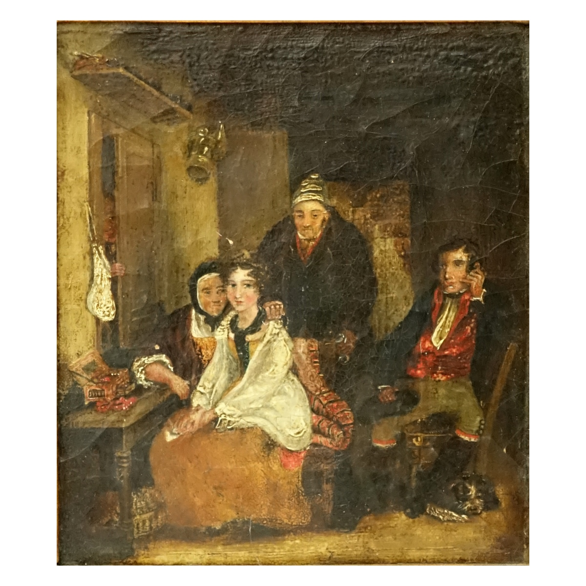 "18/19 C Oil On Canvas ""The Dowry"""