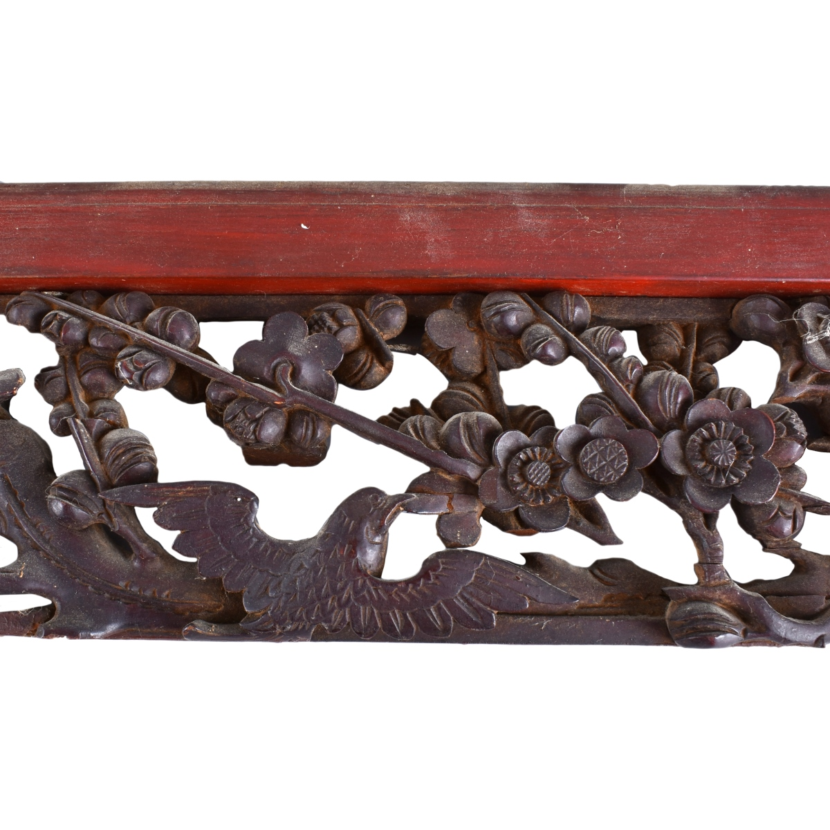 Two Chinese Wood Panels