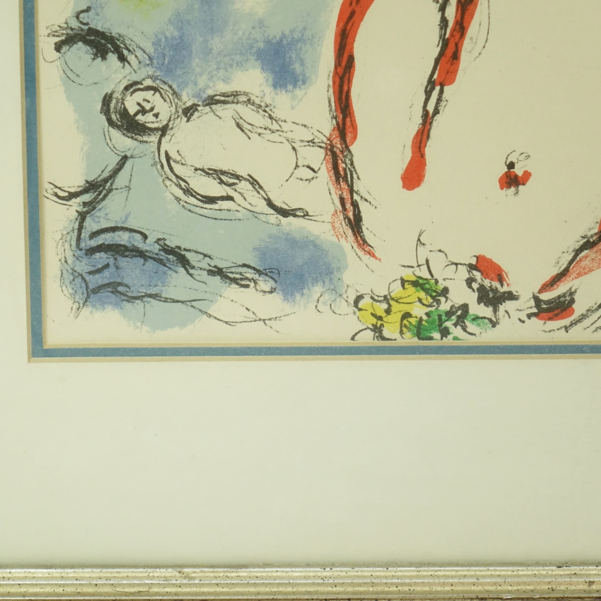 Marc Chagall (1887-1985) Color Lithograph