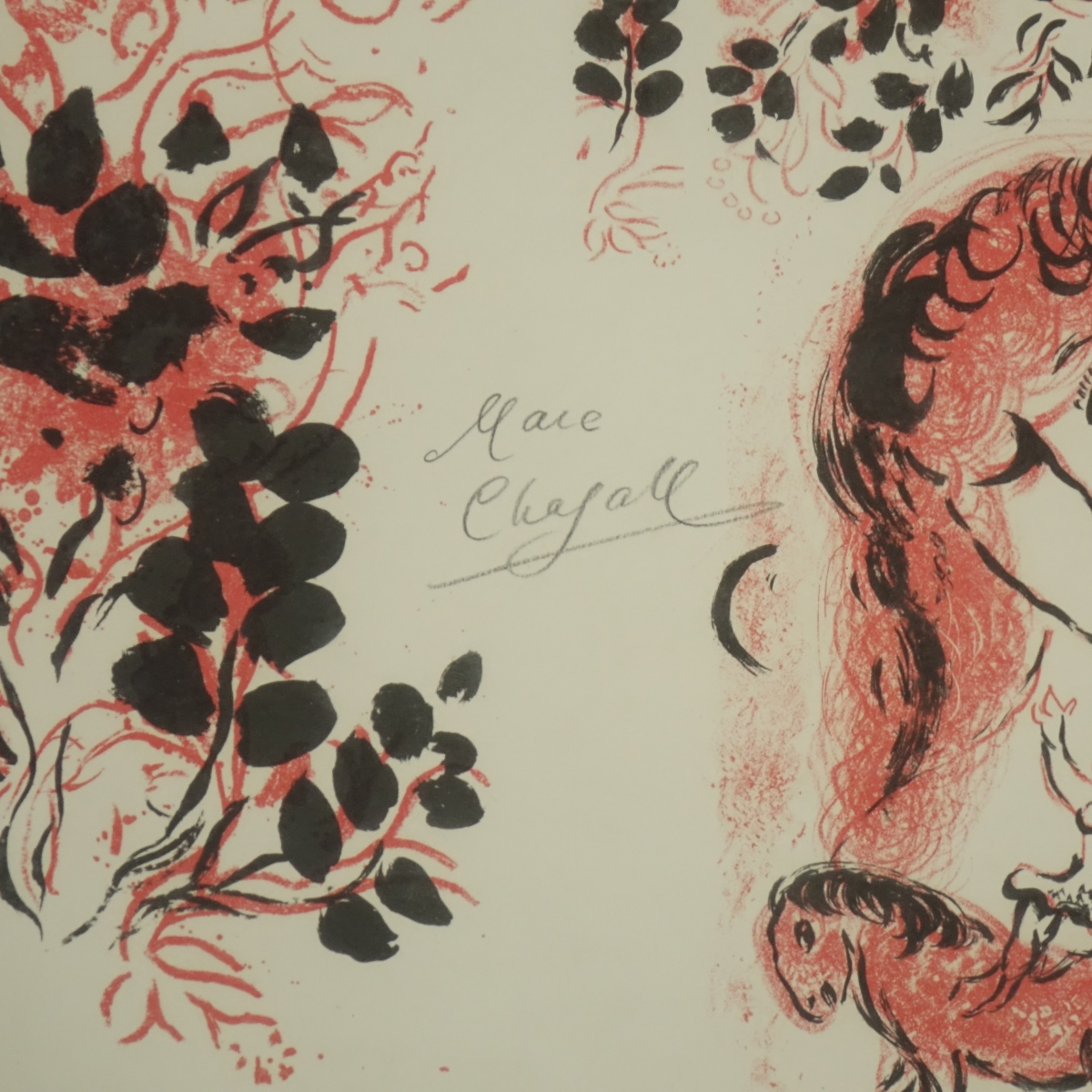 Marc Chagall (1887–1985) Color Lithograph