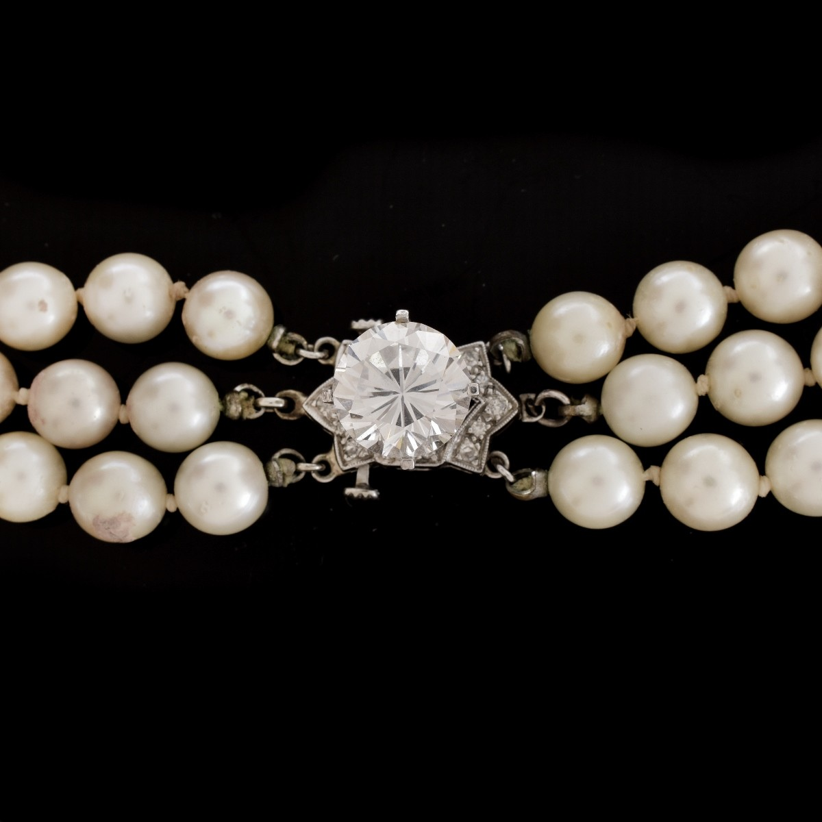 Vintage Pearl and 14K Necklace