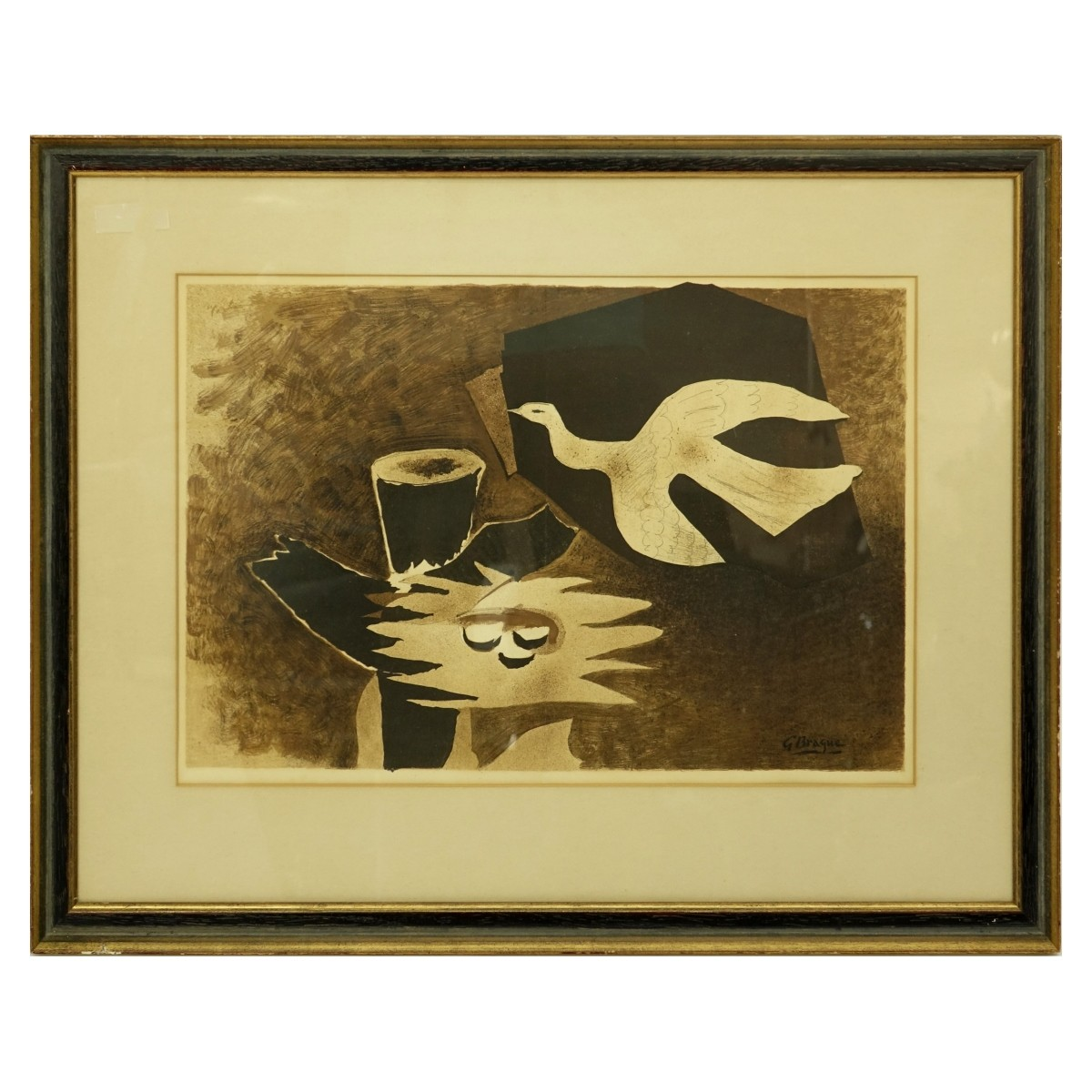 Georges Braque (1882 - 1963) Color Lithograph