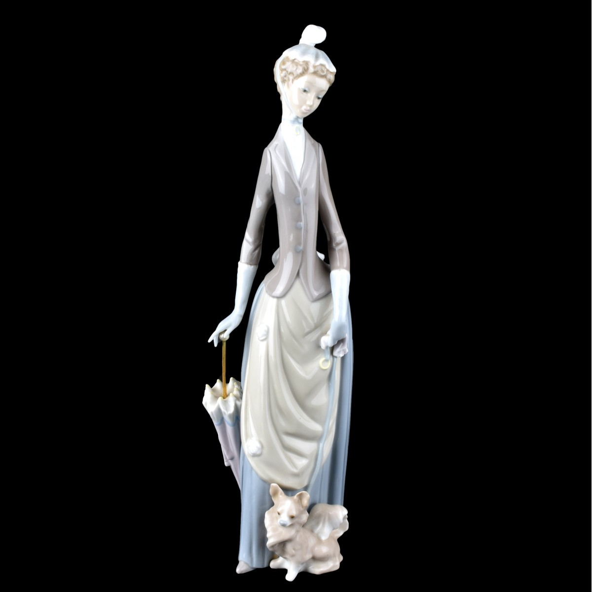 Lladro Umbrella Lady