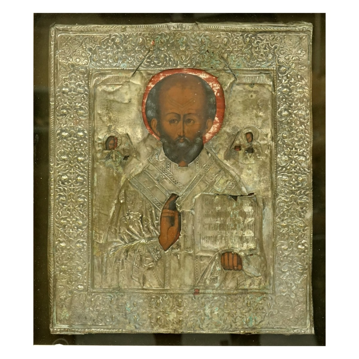 Russian Icon, St. Nicholas of Myra