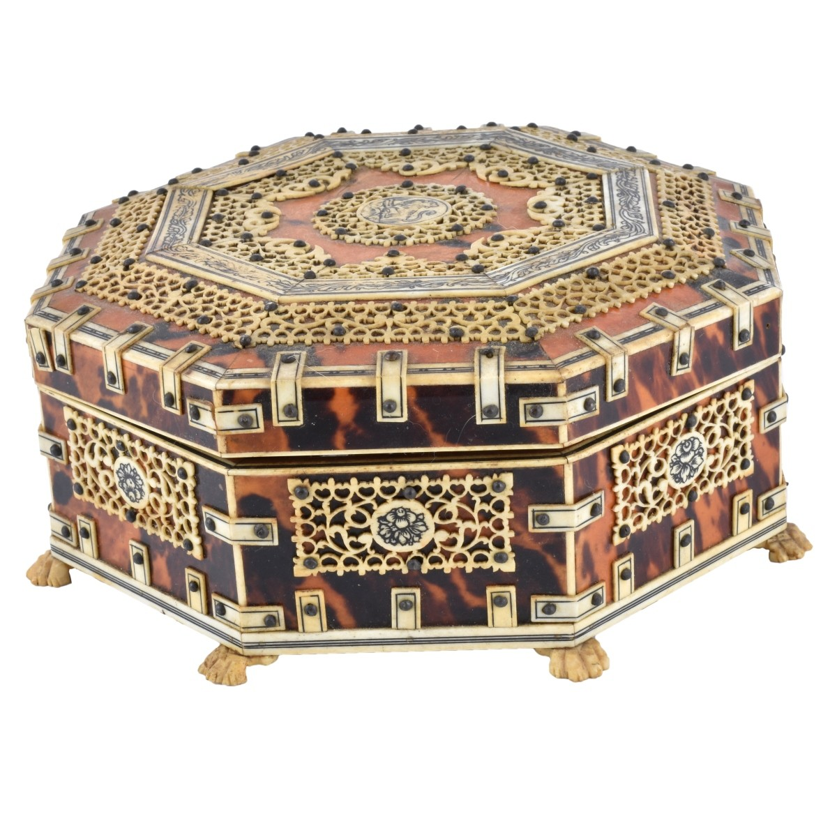19th C. Anglo-Indian Box
