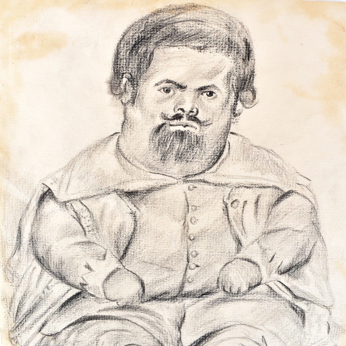 Possibly: Fernando Botero (born 1932) Sketch