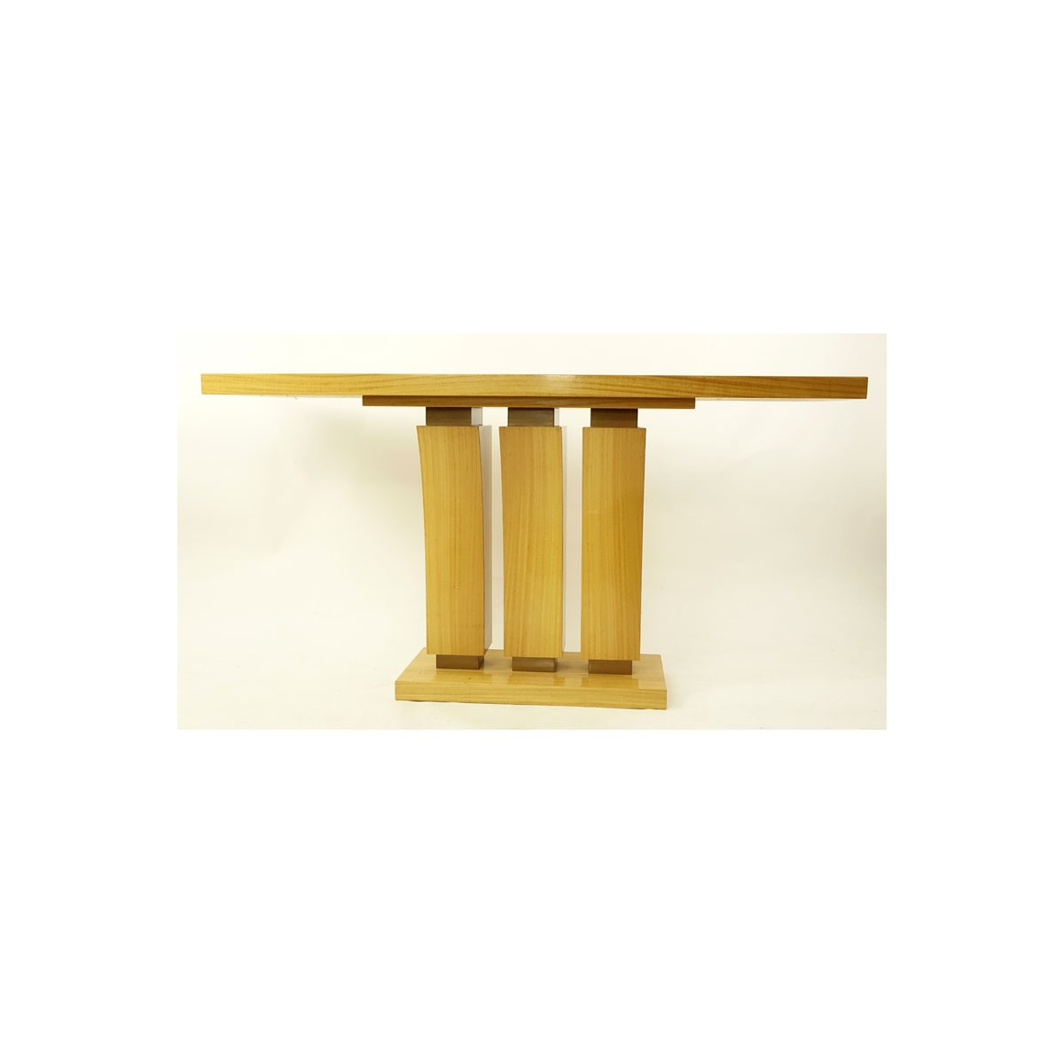 Art Deco Style Satinwood Console Table