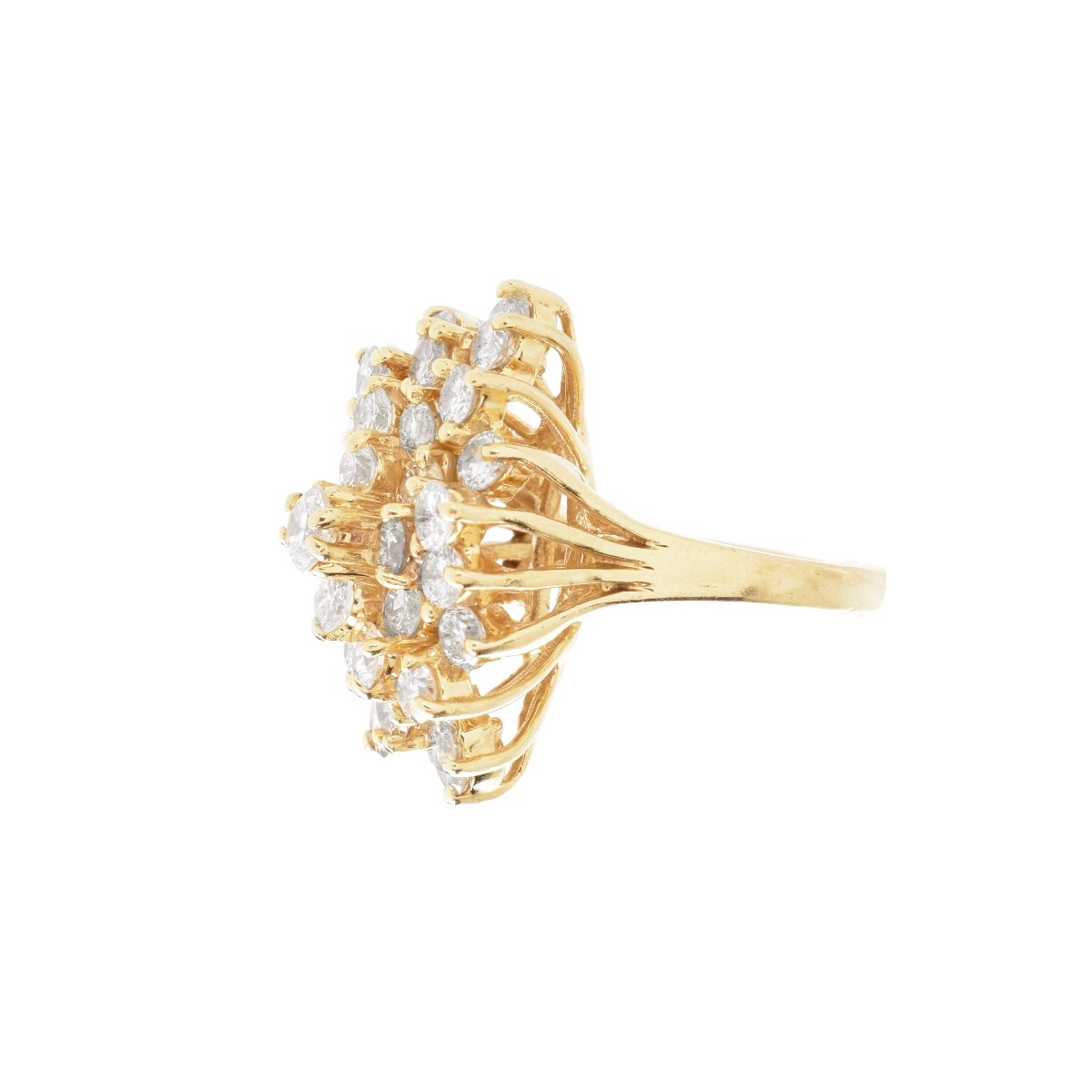 Vintage Diamond and 14K Ring