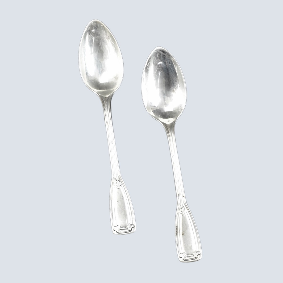 2 Tiffany Sterling St. Dunstan Serving Spoons