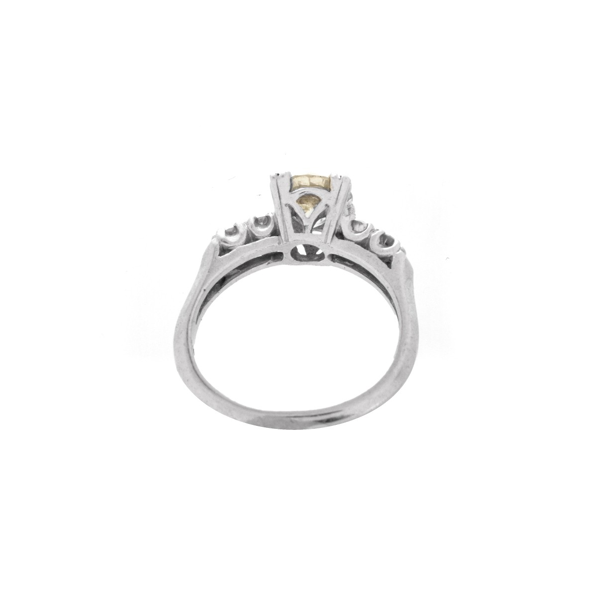 Antique Diamond and 18K Ring