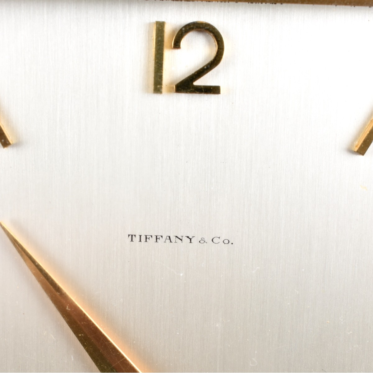 Tiffany & Co. Desk Clock