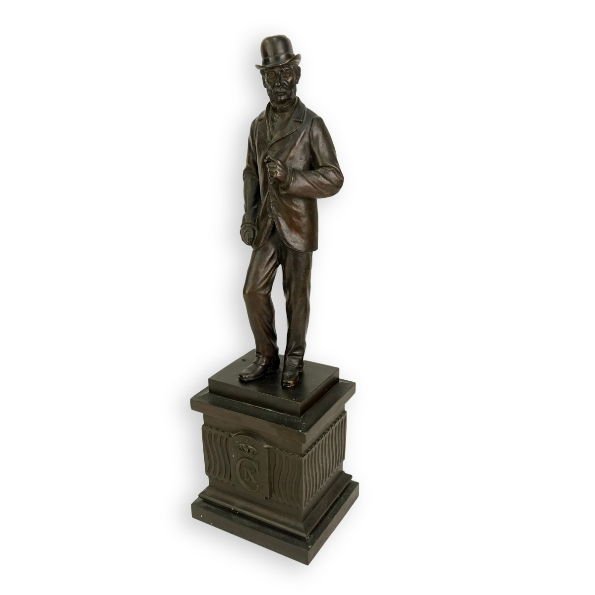August Hassel (1864-1942) Bronze Sculpture