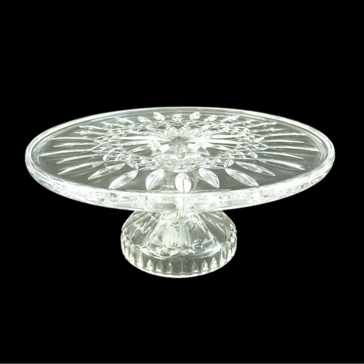 Waterford Crystal Lismore Cake Plate