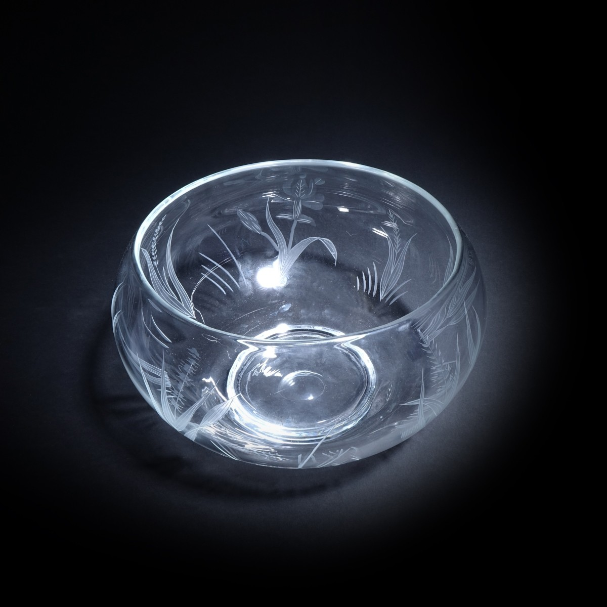 William Yeoward (20C England) Crystal Bowl