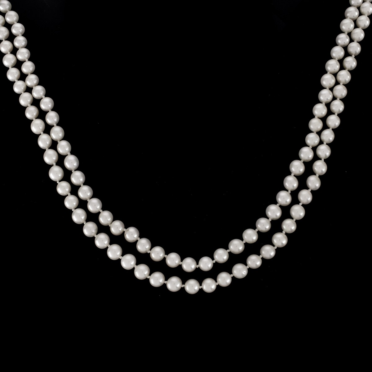 Vintage 8mm Pearl and 14K Necklace