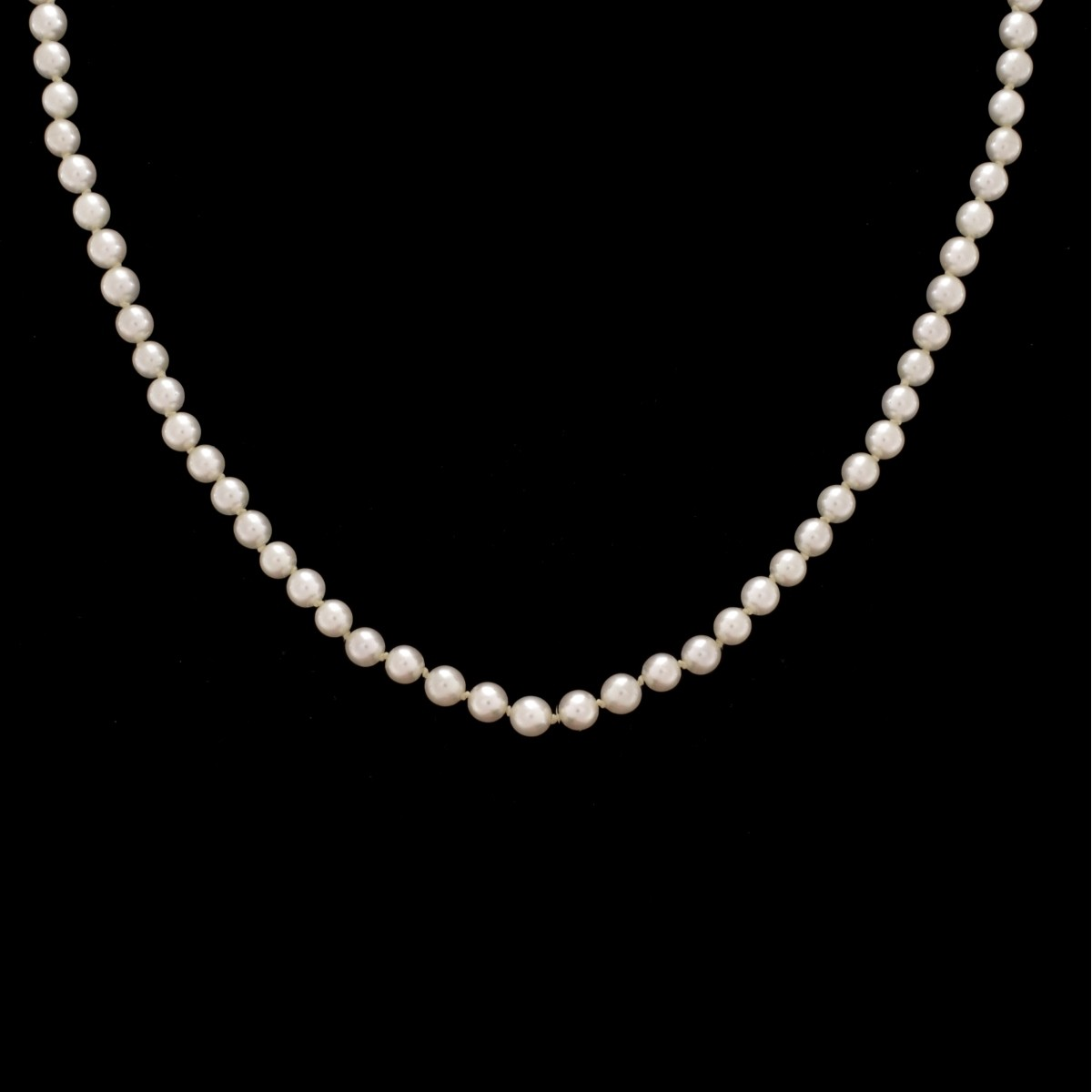 5.0mm Pearl and 14K Necklace