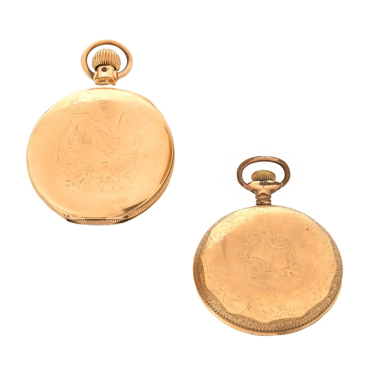 Antique Gold Filled Pocket Watches
