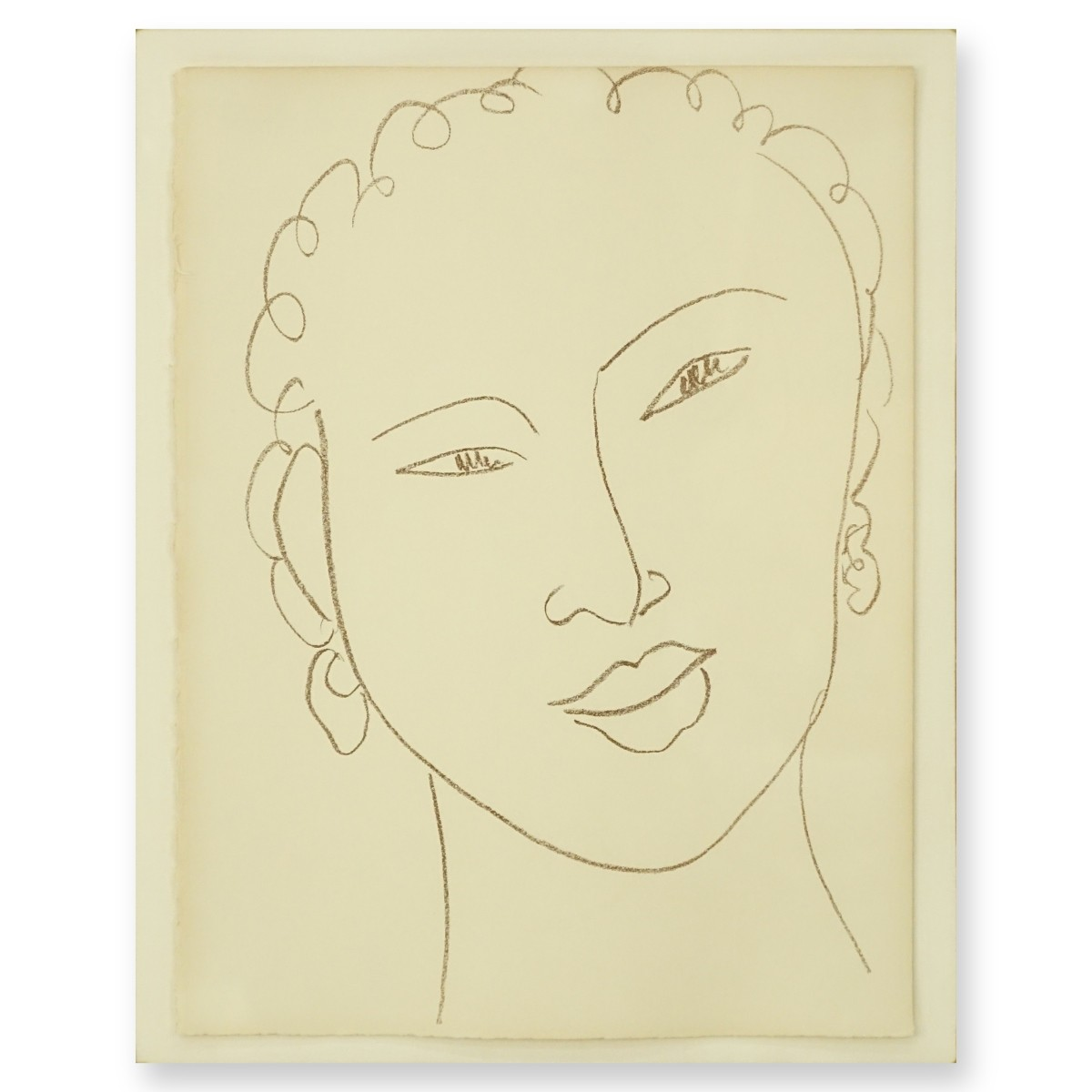 After: Henri Matisse, French, Lithograph