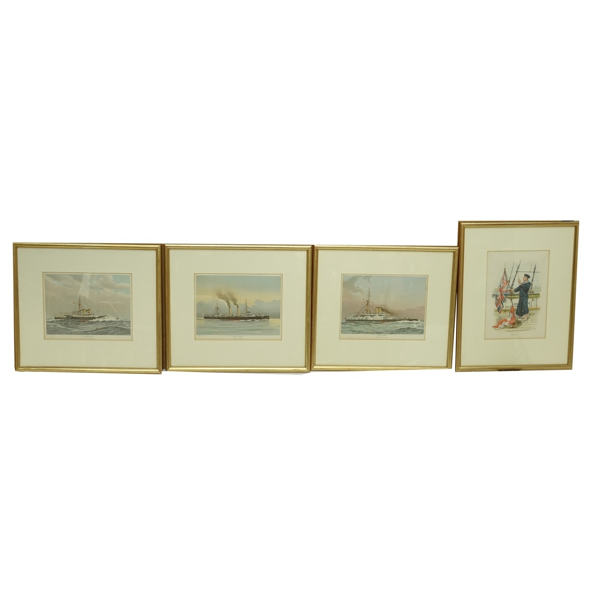 Four (4) Nautical Prints