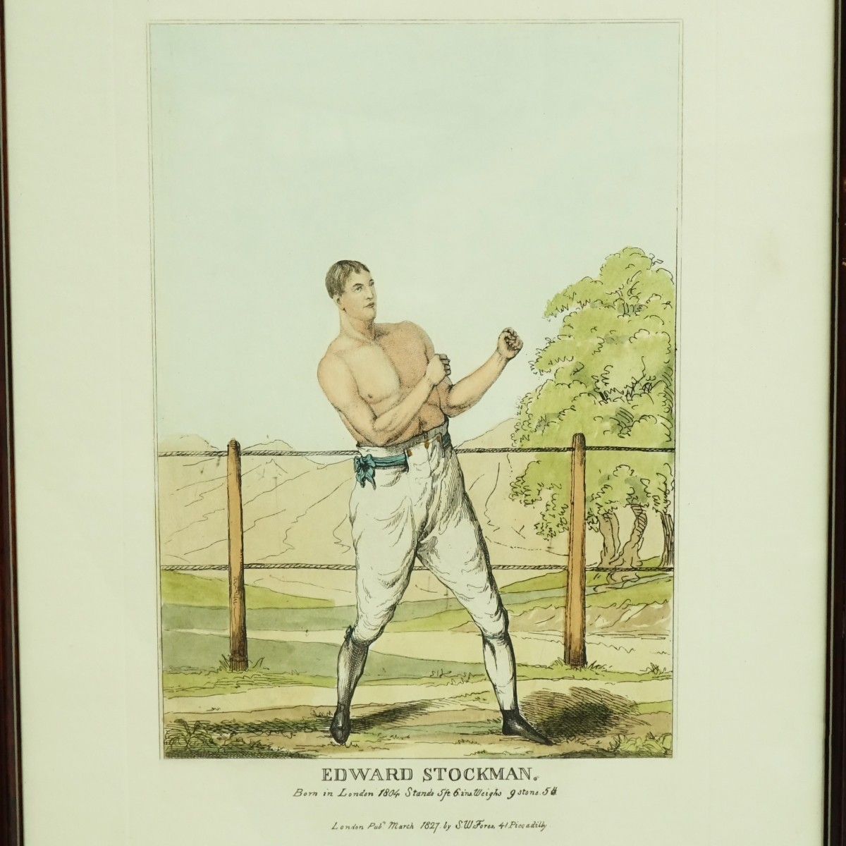 3 Boxing Sporting Engravings