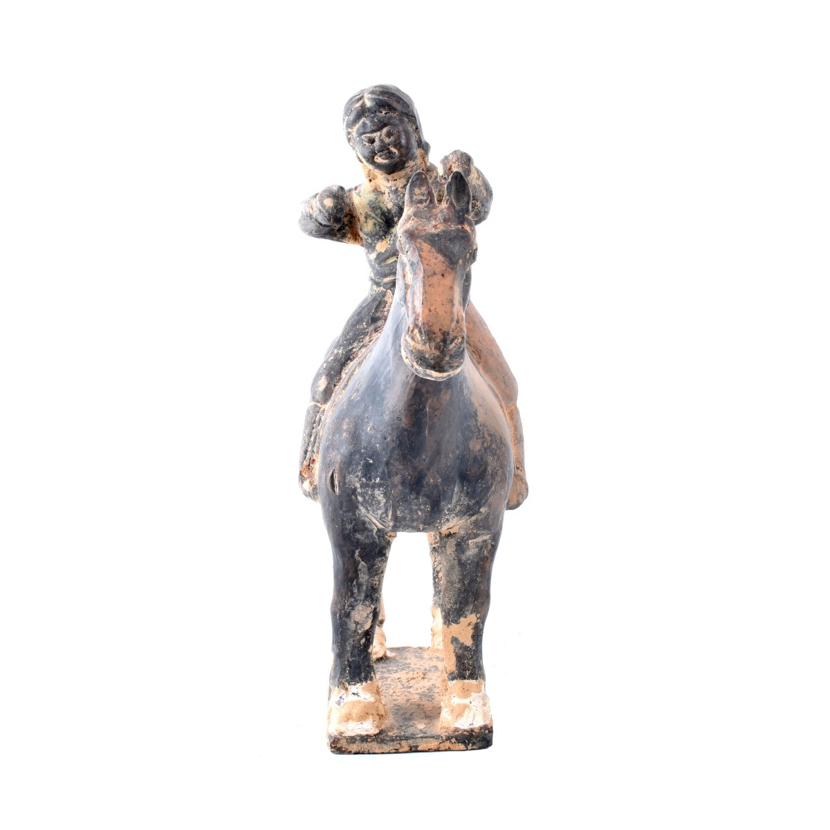 Chinese Tomb Figure on Horseback