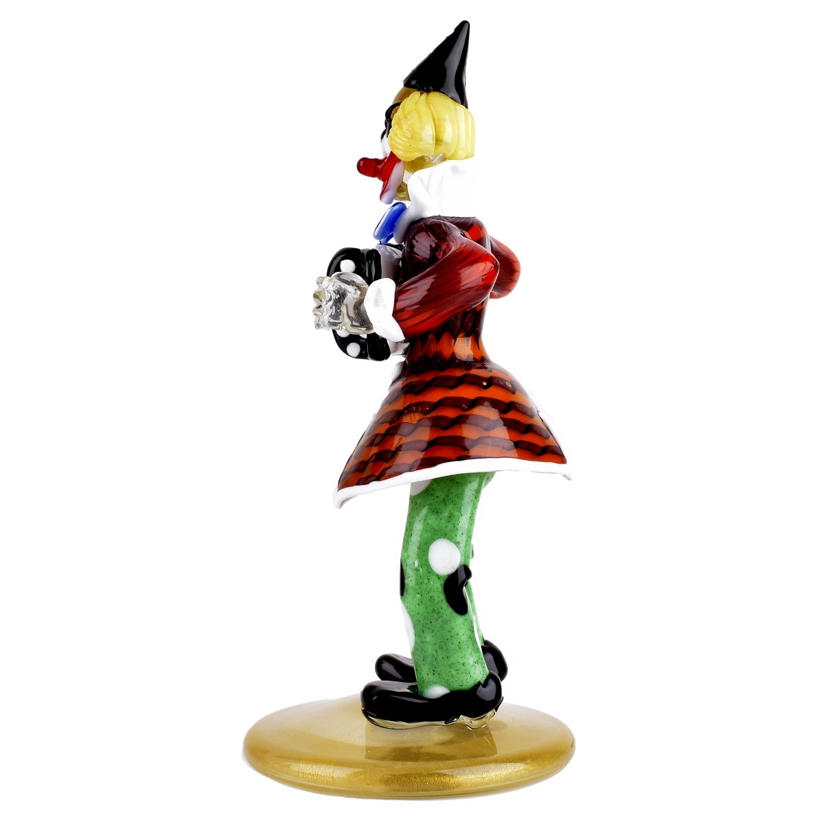 Murano Art Glass Clown Figurine