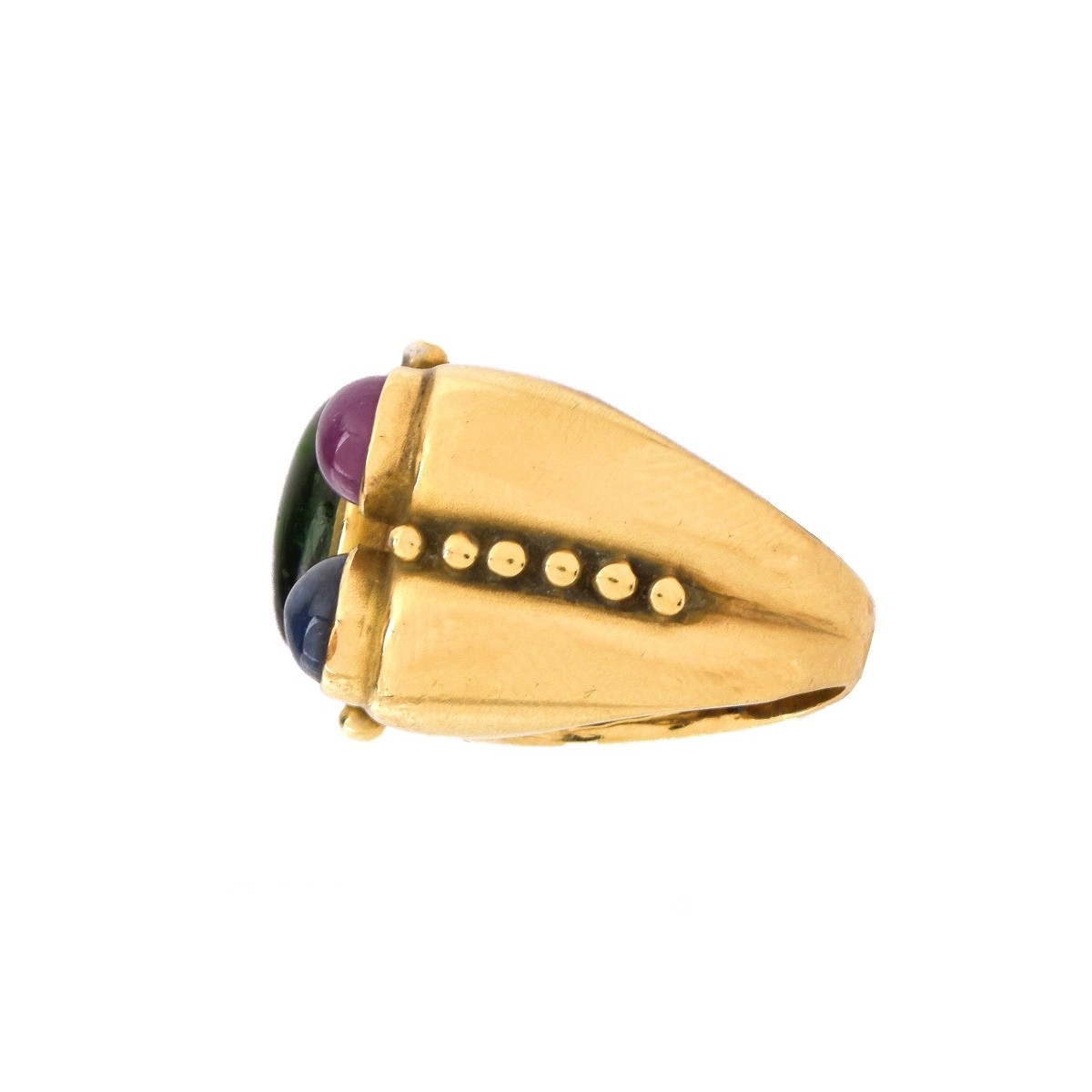14K Gold, Gemstone Ring