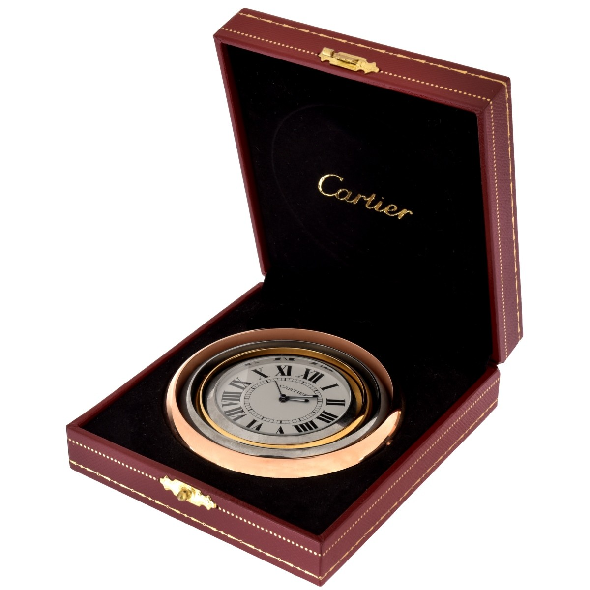 Cartier Trinity Desk Clock