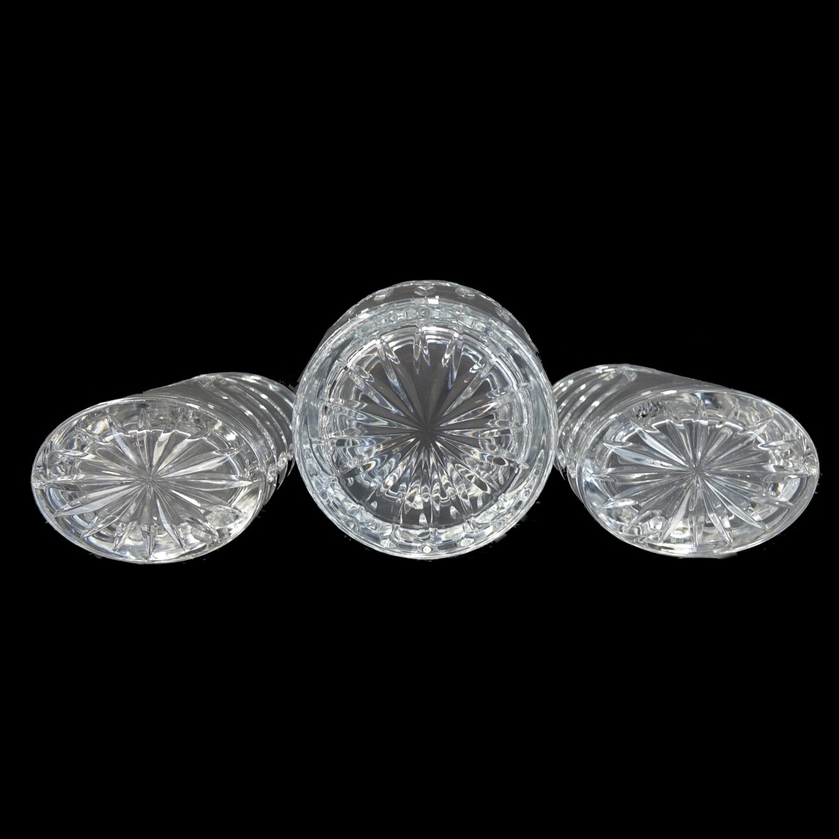 Three Waterford Crystal Table Articles