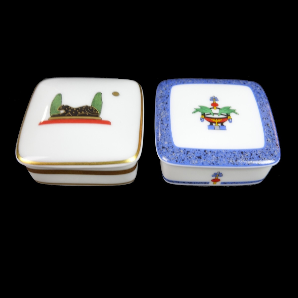 Cartier Limoges Boxes and Baccarat Animals